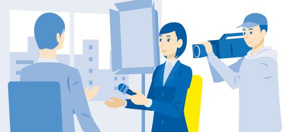 マスコミ業界分析と就職した際の仕事内容を解説
